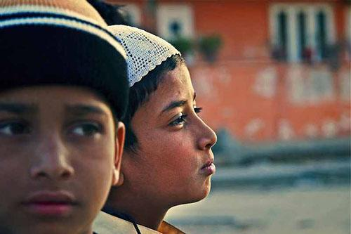 Two muslim boys in india